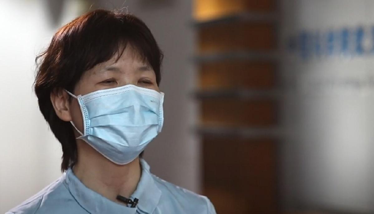 Sin Zhengli, în timpul unui interviu