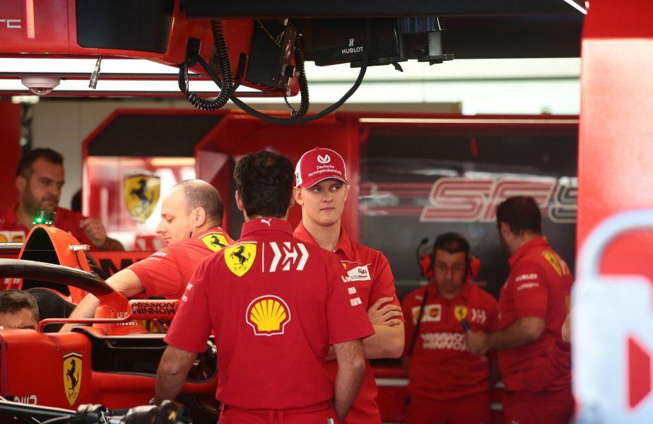 Aşchia nu sare departe! Fiul lui Michael Schumacher se pregăteşte să debuteze în Formula 1