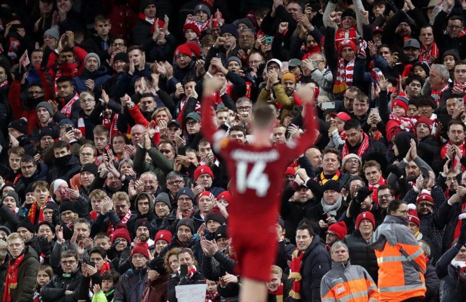 """Căpitanul lui Liverpool a vorbit despre reluarea Premier League. """"Ar fi ciudat să câştigăm trofeul fără să avem fanii alături"""""""