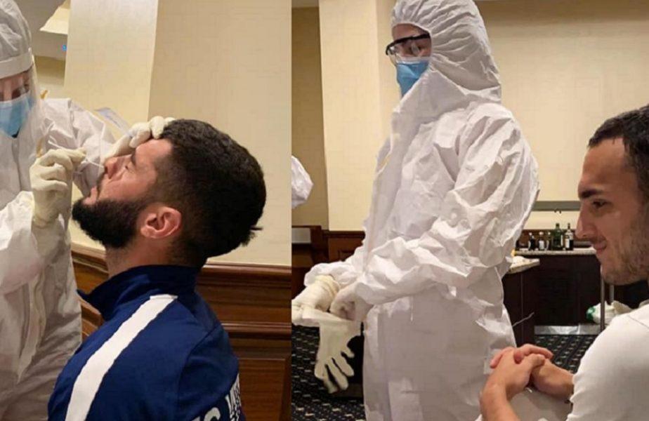 Jucătorii lui Hagi se pregătesc de antrenamentele în efectiv complet. Au fost testaţi din nou pentru coronavirus