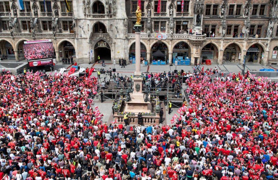 Fanii lui Bayern, ţinuţi în casă dacă favoriţii lor câştigă titlul în Bundesliga. Anunţul primarului din Munchen