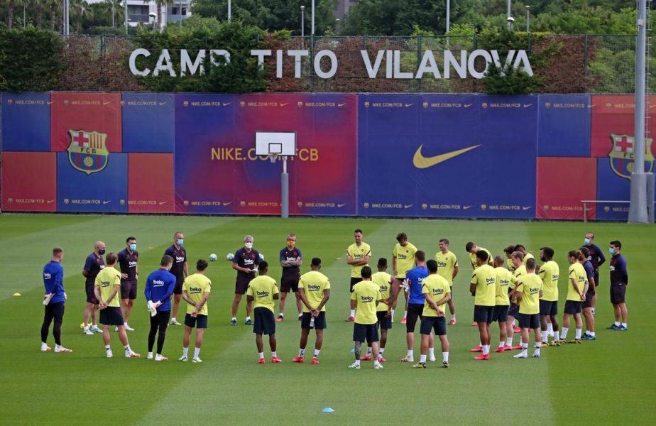Probleme pentru Barcelona: cinci jucători, pozitivi la COVID-19