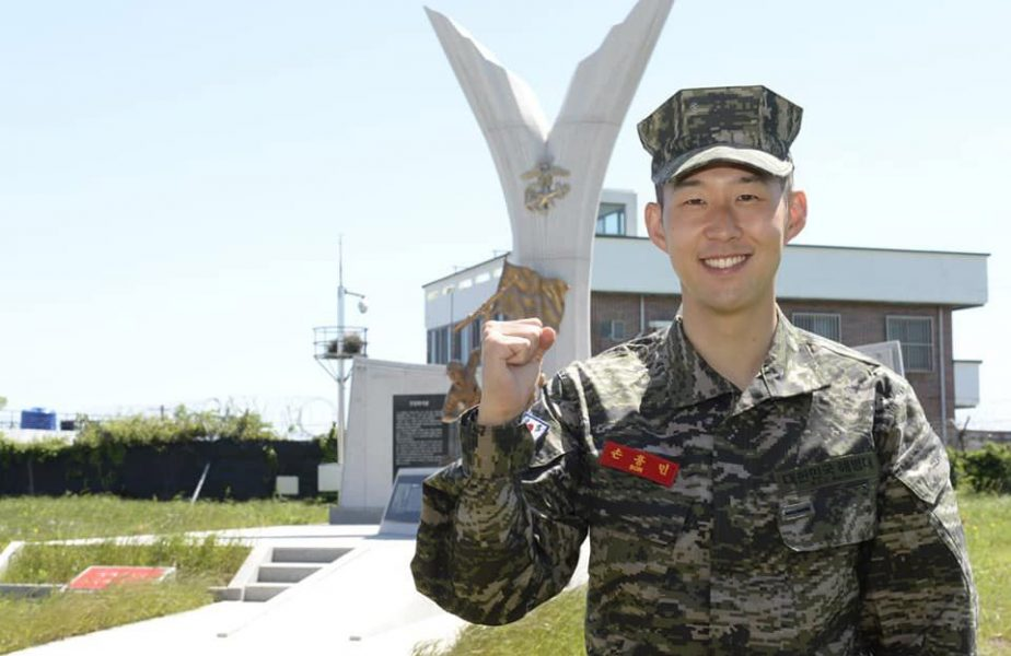 """Heung-Min Son, poveşti din stagiul militar: """"Dormeam zece oameni în cameră, ne-am apropiat repede"""""""