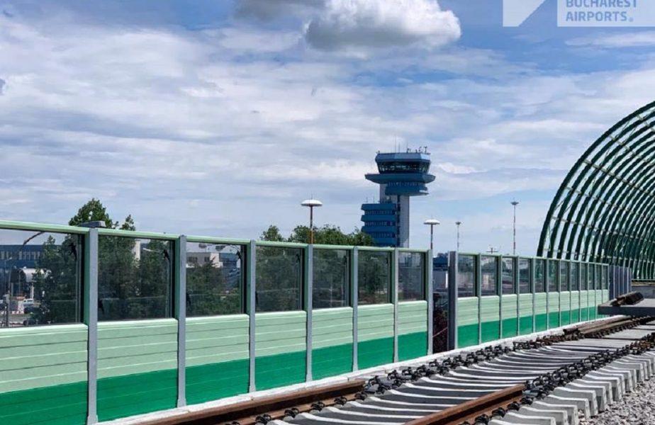 GALERIE FOTO | Calea ferată dintre Gara de Nord şi Aeroportul Otopeni este aproape gata! Când se va da în folosinţă