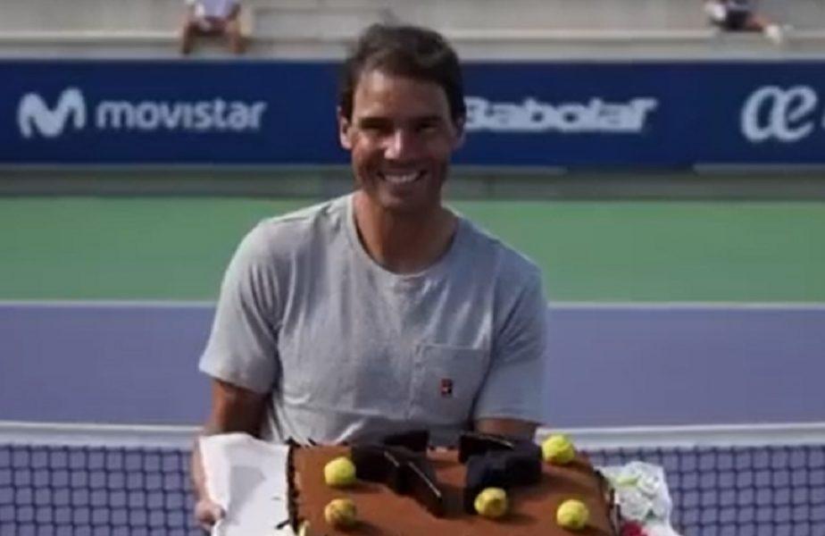 VIDEO | Rafael Nadal, sărbătorit pe terenul de tenis! Campionul, aplaudat la împlinirea a 34 de ani