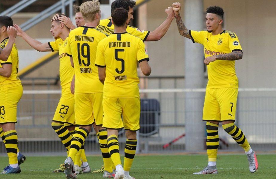 Doi jucători de la Borussia Dortmund, amendaţi pentru că s-au tuns în izolare. Au încălcat restricţiile de distanţare socială!