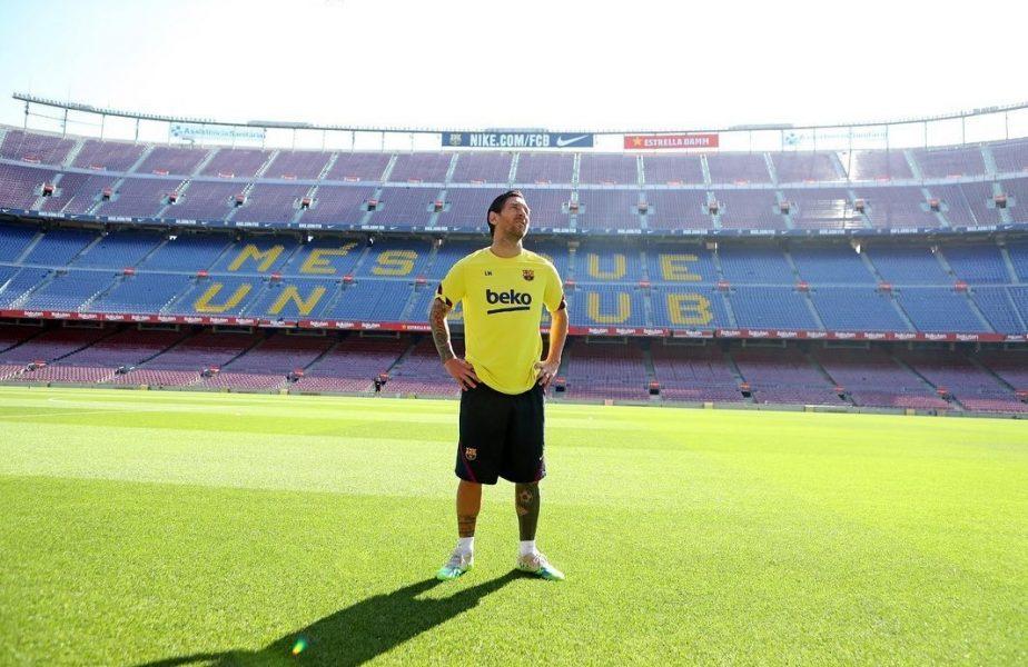 """Leo Messi, înapoi la antrenamente! """"Mi-a fost dor de locul ăsta!"""""""