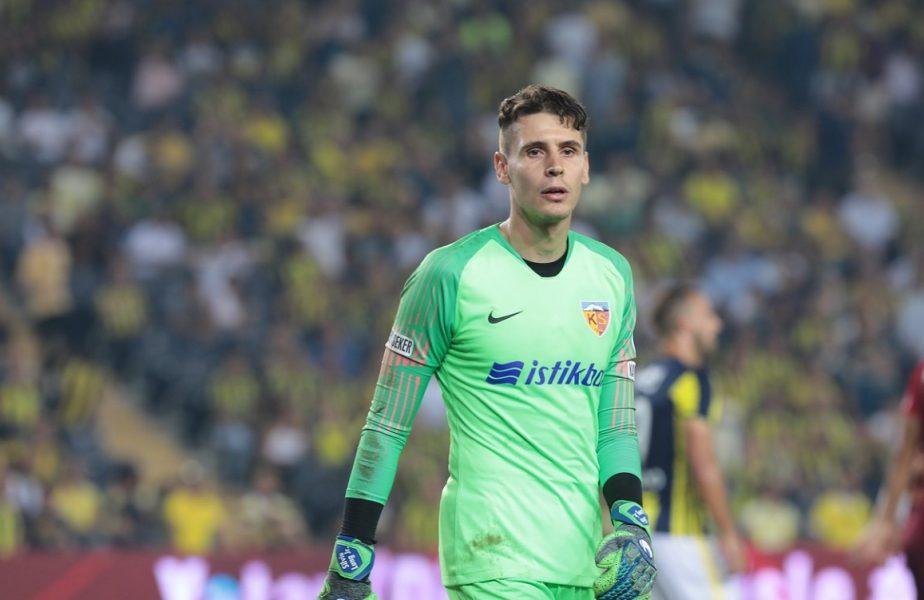 Silviu Lung nu se va întoarce prea curând în Liga 1. Portarul român a primit o ofertă tentantă!