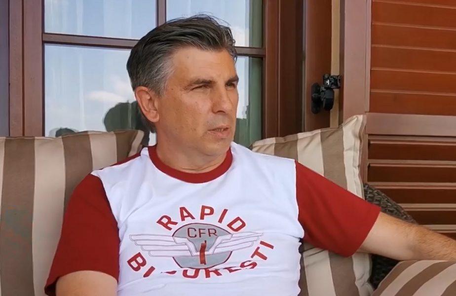 Ionuţ Lupescu a îmbrăcat tricoul Rapidului. Donaţie remarcabilă făcută de fostul mijlocaş al Generaţiei de Aur!