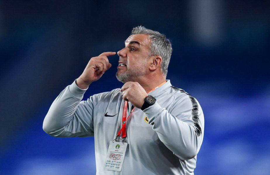 """Cosmin Olăroiu, dat în fapt chiar de ziua lui: """"Mi-a spart nasul! Mi-a curs sânge câteva minute!"""""""