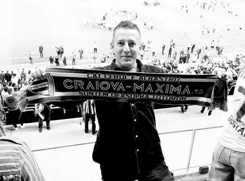 Costin Mărculescu a murit! Era fan Universitatea Craiova, iar clubul nu l-a uitat! Mesajul oltenilor