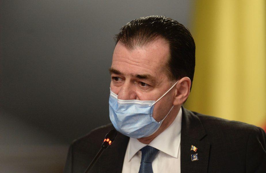 Burleanu și Gică Popescu l-au încolțit pe Ludovic Orban și i-au cerut să lase spectatorii pe stadioane. Răspunsul premierului