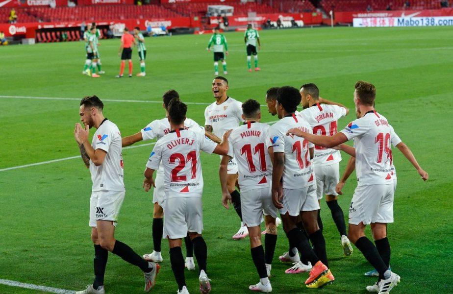 La Liga s-a reluat. Sevilla – Betis 2-0. Programul complet al primei etape din Spania care se joacă pe timpul pandemiei!
