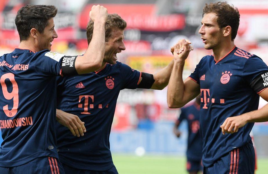 Bayern Munchen, la o singură victorie de un nou titlu, în Bundesliga! Succes chinuit cu Gladgbach