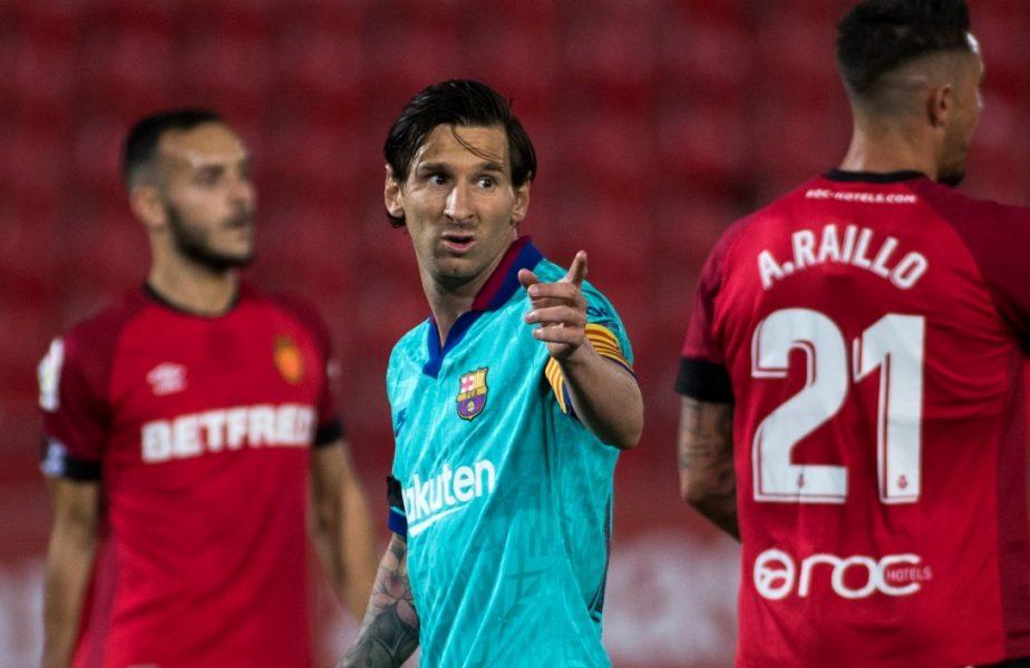 VIDEO   Mallorca-Barcelona 0-4. Messi a făcut show. Gol și două pase decisive pentru starul argentinian!