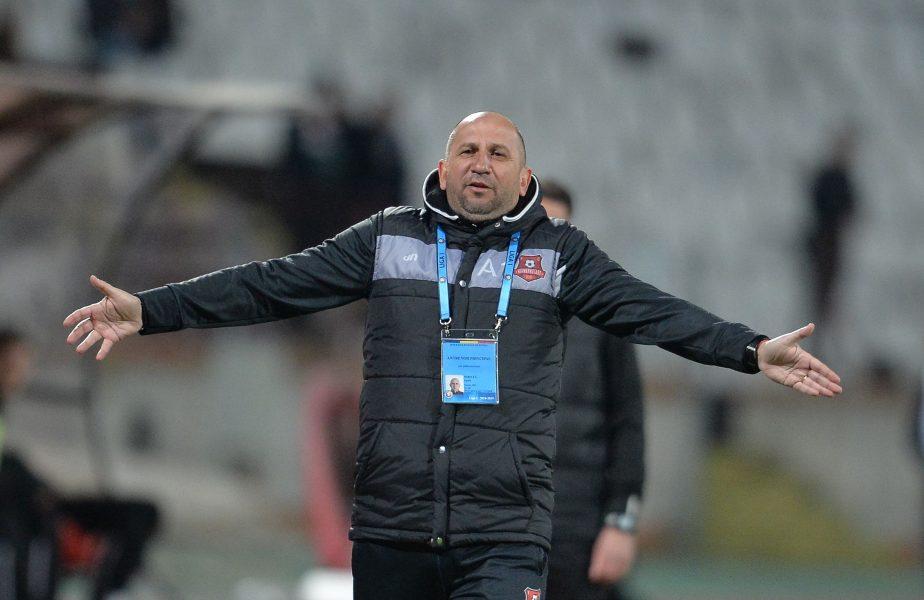Vasile Miriuţă face scandal după ce a fost dat afară. Vrea 5 salarii de la Hermannstadt ca să plece în linişte
