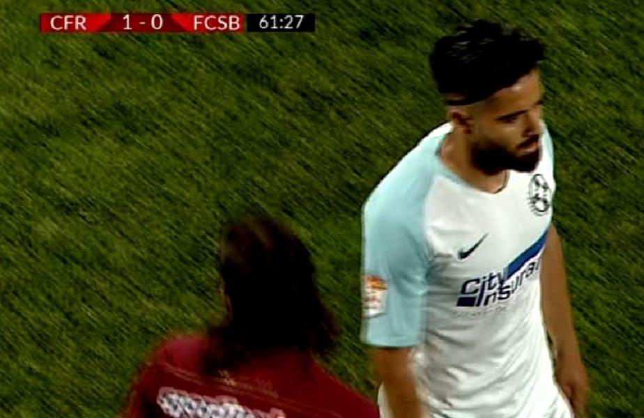 Ionuț Vînă, umilit în derby-ul CFR Cluj-FCSB! Bogdan Vintilă s-a supărat pe jucătorul său. Cât a rezistat pe teren