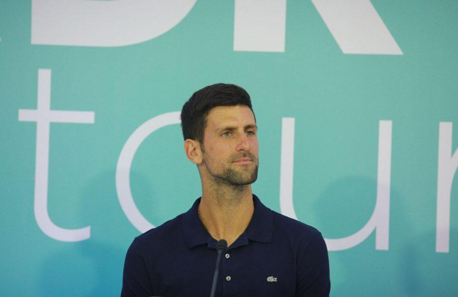 News Alert | Șoc în tenis! Novak Djokovic ar putea avea coronavirus. Cum este posibil
