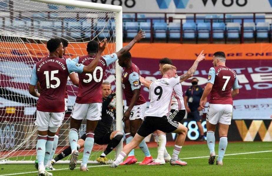 Englezii au umplut-o de VAR. Fază uluitoare în primul meci de la reluarea Premier League. Arbitrii au închis ochii!