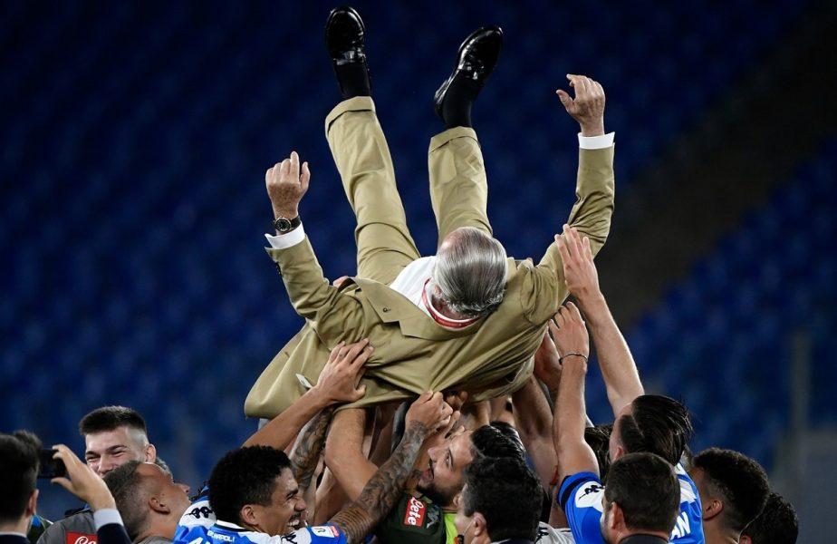 Au învins marele duşman! Napoli a câştigat Cupa Italiei. Primul trofeu după 6 ani. Victorie la penalty-uri cu rivala Juventus. Ronaldo, premieră negativă