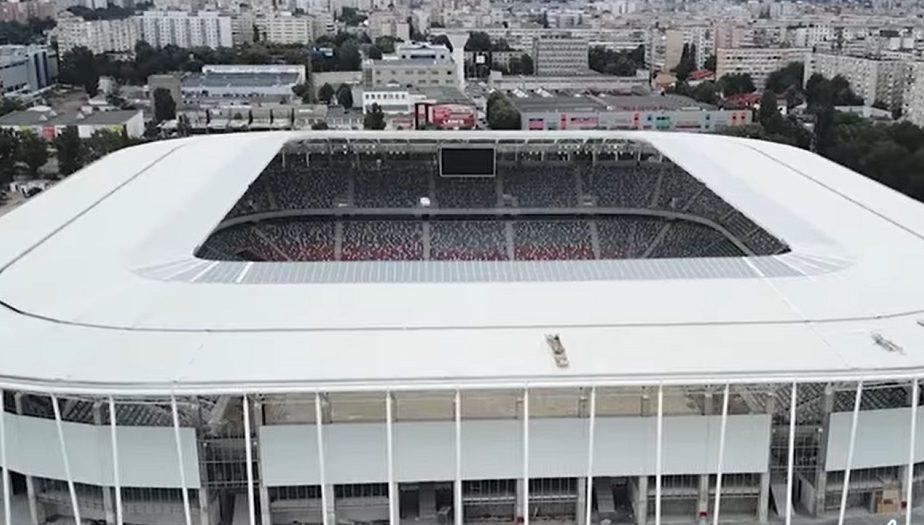 VIDEO | Stadionul Steaua începe să arate ca unul de 100 de milioane de euro. Şi Giuleştiul prinde contur!