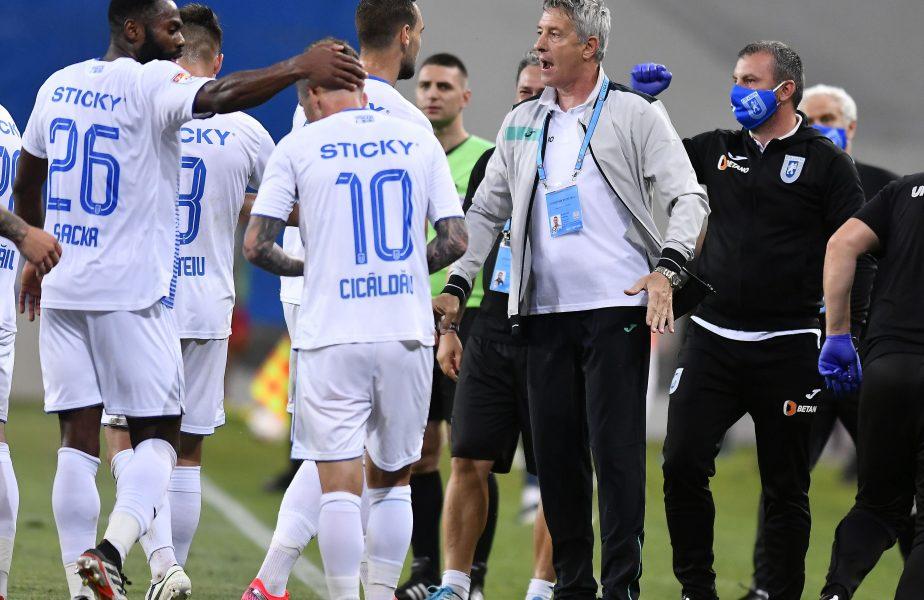 """Bergodi amenință supremația lui Dan Petrescu în Liga 1: """"E bine că nu se vorbește de Craiova!"""" Italianul le cere răbdare oltenilor"""