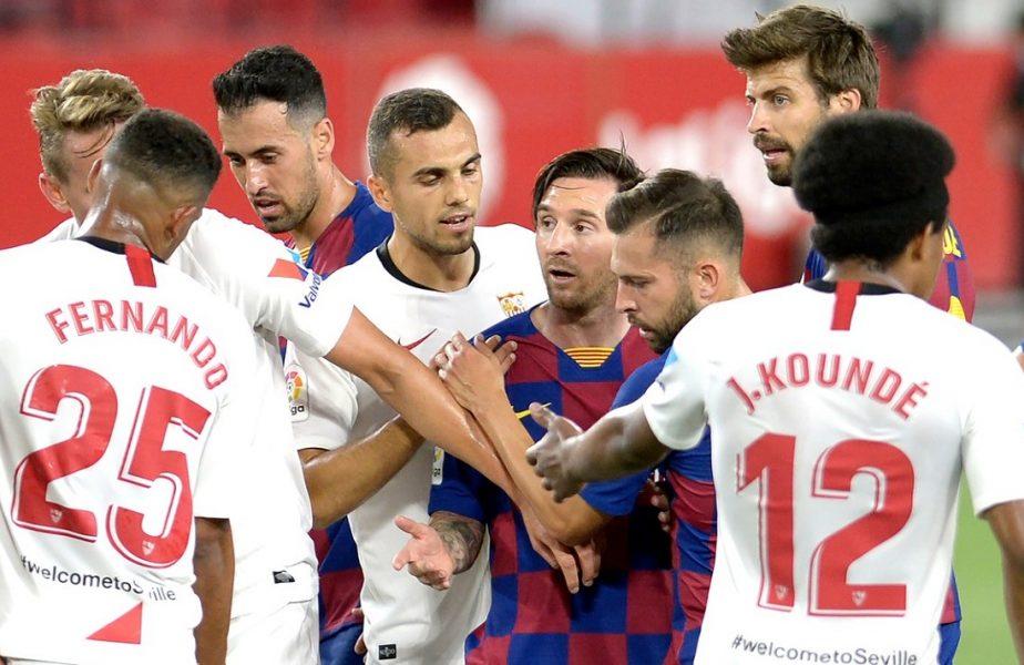 Sevilla – Barcelona 0-0. Messi nu a putut înscrie golul 700! Real Madrid a devenit favorită la titlu