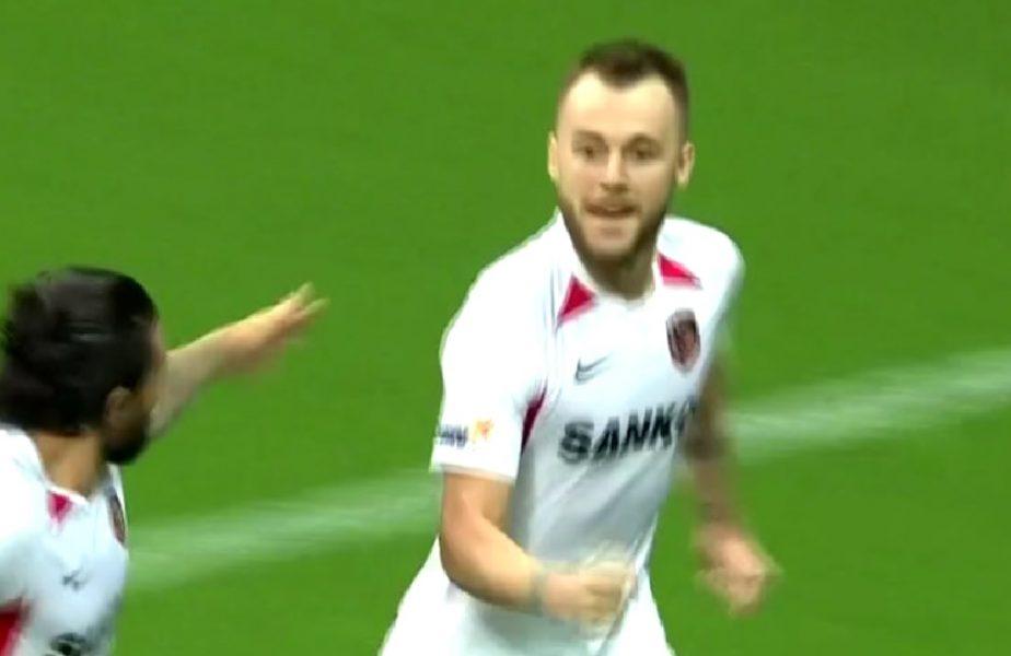 VIDEO | Şumudică, în pragul infarctului în meciul cu Galatasaray! Gol anulat în minutul 90+6, Maxim a marcat în al 15-lea minut de prelungiri