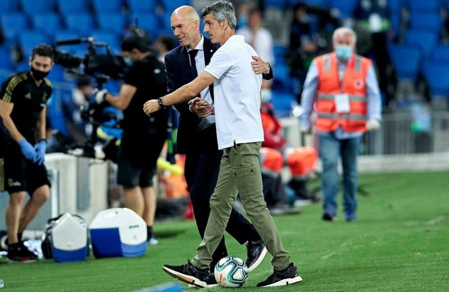 """Controverse după victoria Realului. Zidane nu a mai rezistat. """"Mă deranjează că vorbiţi numai despre arbitri"""""""