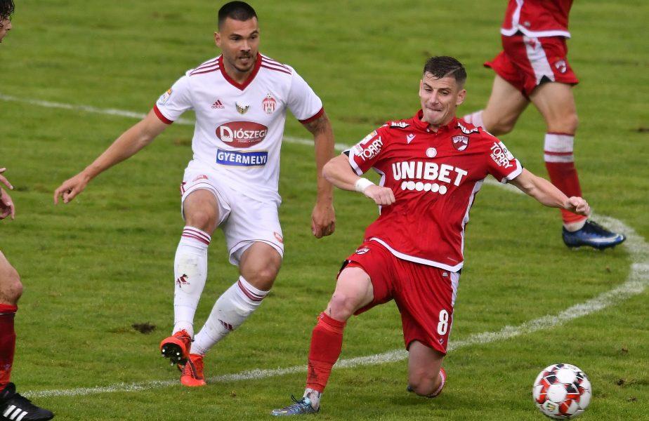 Imagine din meciul Dinamo-Sepsi