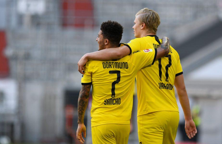 Un jucător român e în aceeași echipă cu Sancho și Haaland! Nu a debutat în Liga 1, dar e considerat un viitor star al fotbalului