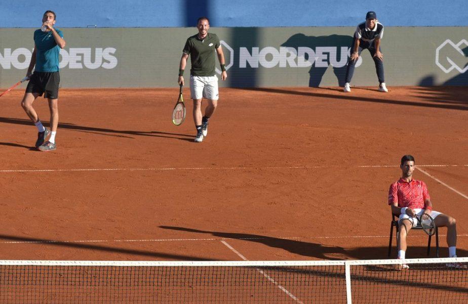 CoronaTenis | Focar de Covid-19 la turneul organizat de Djokovic. Patru jucători de top sunt infectaţi, alţi trei în carantină!