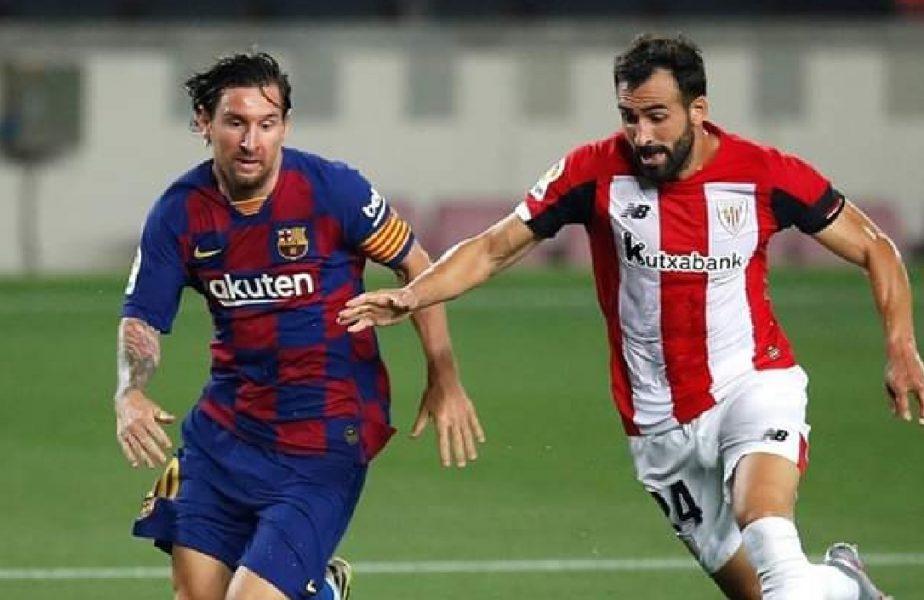 Barcelona, victorie la limită cu Athletic Bilbao! Catalanii continuă lupta pentru titlu cu Real Madrid