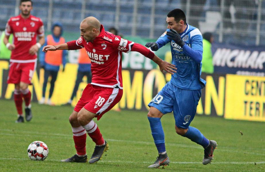 Lovitură de proporţii primită de Mihalcea. Dinamo, fără golgheter în derby-ul cu FCSB. I s-a retras viza medicală!