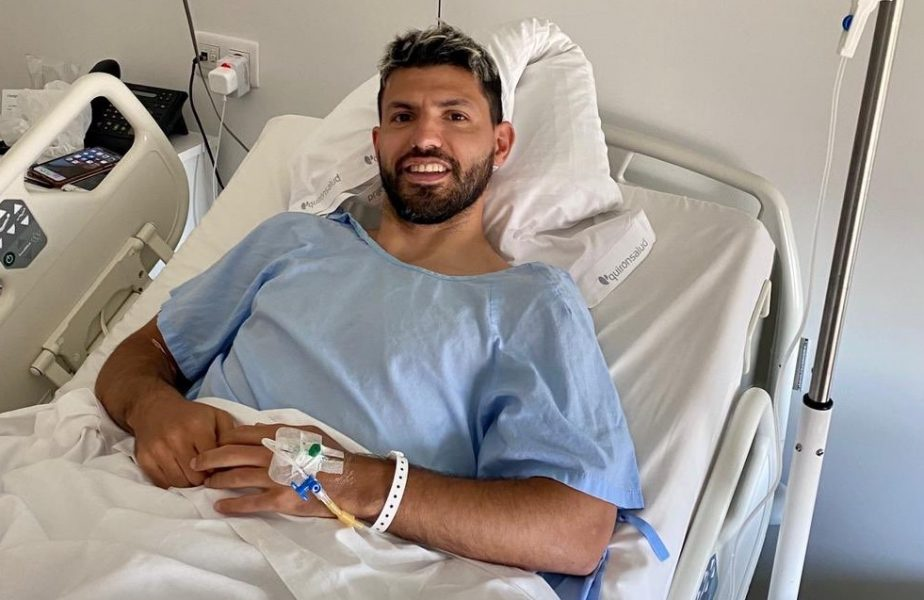 Sergio Aguero s-a operat! Sezon încheiat pentru starul lui Manchester City
