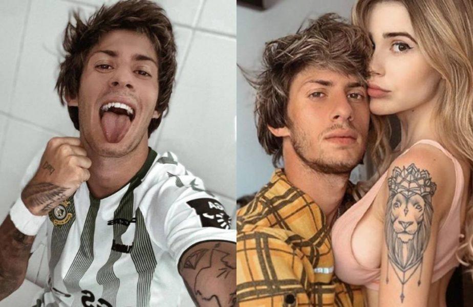 Un fotbalist a fost dat afară de club, după ce a postat imagini incendiare cu iubita sa. Reacția antrenorului