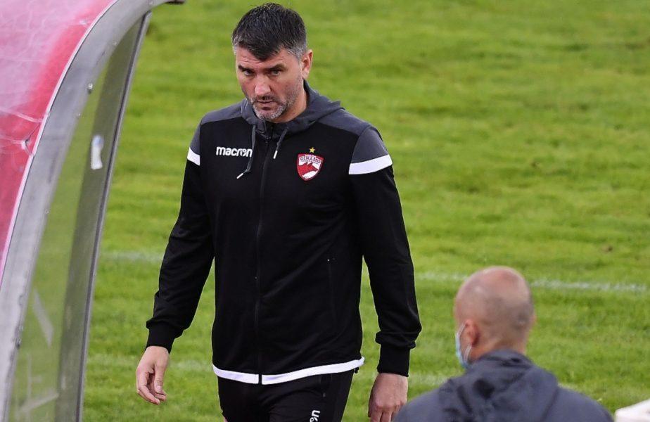 Schimbări importante la Dinamo. Mihalcea l-a surprins pe Vintilă. I-a lăsat pe bancă pe Puljic, Montini şi Sin