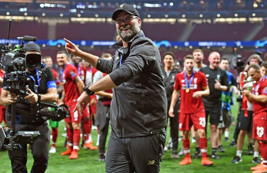 Seară magică pentru Liverpool. A devenit, matematic, campioana Angliei. Jurgen Klopp a adus primul titlu după 30 de ani de aşteptare!
