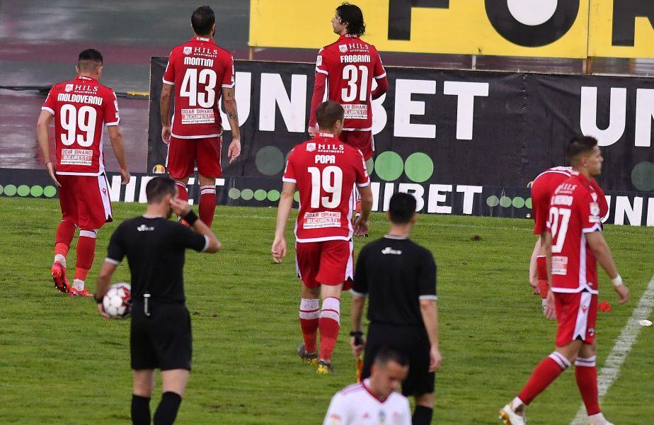 """Dinamoviştii intră în pământ de ruşine după ce au ajuns pe ultimul loc: """"E jenant. Nici nu am cuvinte!"""" Cum se comportă Mihai Popescu în vestiar"""