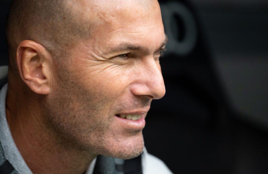 """Reacţia lui Zidane, după pasa de pe altă planetă reuşită de Benzema: """"Este genial ceea ce face el"""""""