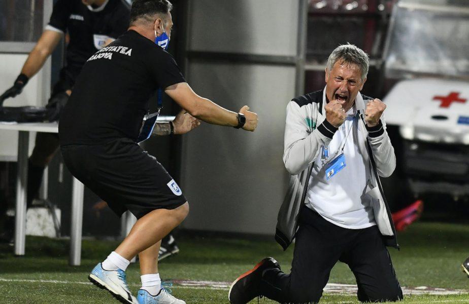 """Universitatea Craiova poate urca pe primul loc în Liga 1. Avantaj uriaș înaintea meciului cu Gaz Metan. """"Suntem numai 12 seniori"""""""