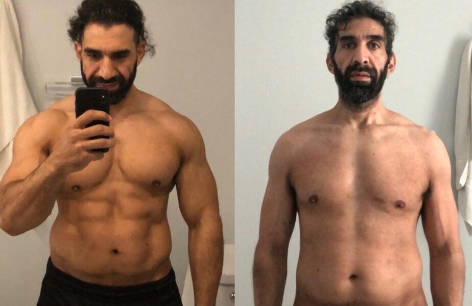 Momente dramatice pentru un sportiv infectat cu Covid-19. A slăbit 27 de kilograme în 25 de zile!