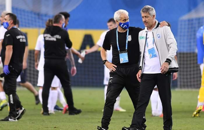 """Cristiano Bergodi, semnal de alarmă înaintea partidei cu Gaz Metan: """"Când eşti cu nasul pe sus, fotbalul te pedepseşte"""""""