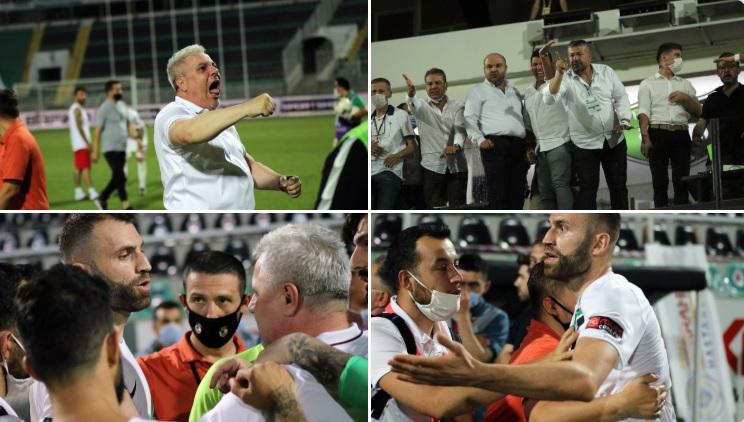 Scene incredibile în Turcia! Un oficial a aruncat cu o sticlă cu apă după Marius Şumudică. Reacţia românului. 3 puncte uriaşe pentru Gaziantep