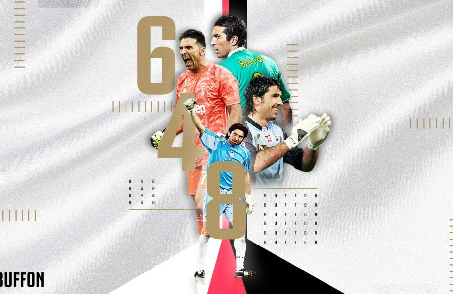 Record absolut pentru uriașul Gianluigi Buffon! Cele mai multe prezențe în Serie A. L-a depășit pe Paolo Maldini