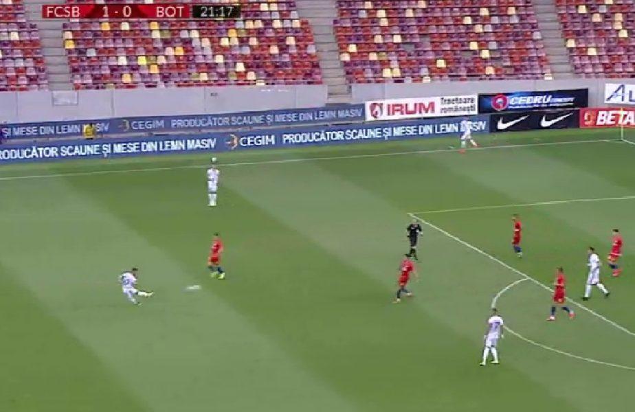 FCSB-Botoșani 1-1. Un nou pas greșit pentru roș-albaștri. Lupta pentru Europa League devine din ce în ce mai crâncenă