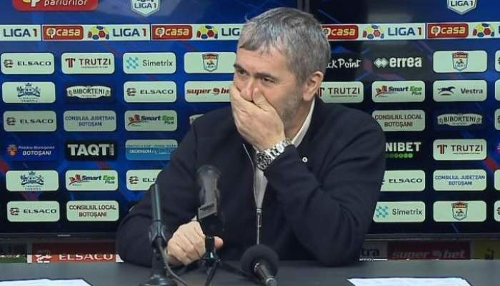 """Decide Botoşani campioana? Anunţul lui Valeriu Iftime: """"Cu CFR e mai greu, pe Craiova am văzut-o obosită!"""" Discuţia avută cu Marius Croitoru"""