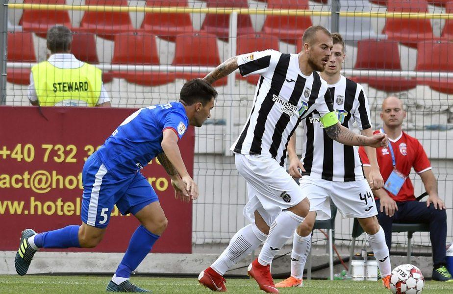 Botoşani – Astra 0-0. Cele două echipe s-au anihilat reciproc. Moldovenii rateză şansa de a urca pe podium