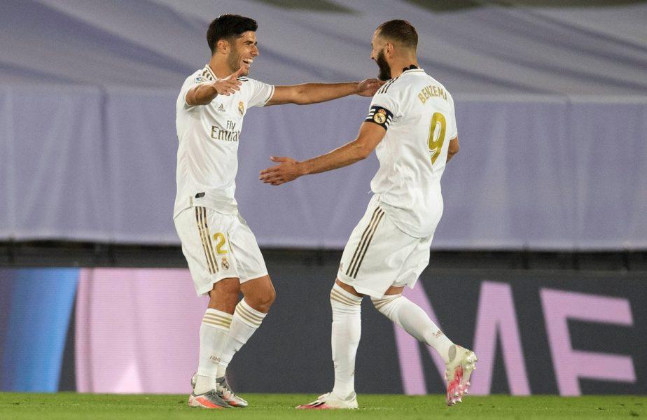 Real Madrid – Alaves 2-0. Benzema şi Asensio duc echipa lui Zidane mai aproape de titlu