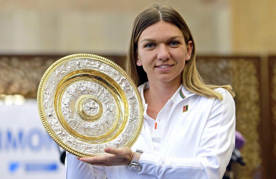 Simona Halep a îmbrăcat rochia pe care ar fi trebuit să o poarte la Wimbledon. Mesajul emoţionant al româncei!
